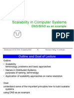 Scalability in Computer System BIND/DNS Example