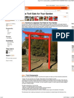 35986893 Garden Japanese Torii Gate How To