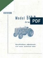 015. Radioničko uputstvo za traktor Fiat 513R