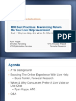 e Commerce Live Help Slides 2009