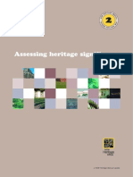 Assessin Heritage Significance Manual