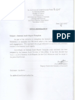 Internal Audit Report Template 1