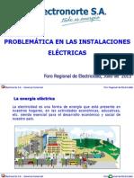5. EIE Externas y La Problematica Con Las Instalaciones Electricas Internas de Los Usuarios