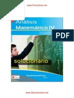 SOLUCIONARIO DE ANÁLISIS MATEMÁTICOS IV - www.ALEIVE.org