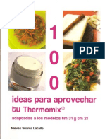Thermomix · 100 ideas para aprovechar tu Thermomix - Nieves Suarez Lacalle