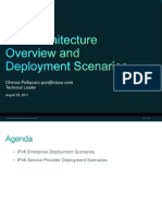 IPv6 Architecture Overview and Deployment Scenarios