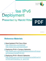 Enterprise IPv6 Deployment by Harold Ritter