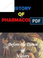 History of Pharmacology