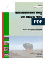 EIA Guidelines Ship Breaking Yards