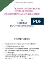 Erection Steps-STG 57.5 MW