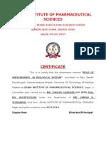 Certificate 2003
