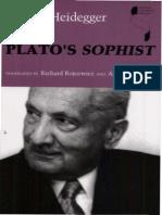 Martin Heidegger - Plato's Sophist