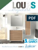 Catálogo muebles de baño Salgar COLOURS