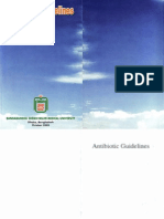 Antibiotic Guidelines (2005)