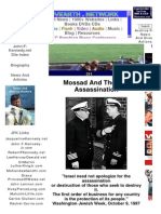 Mossad and the Assassination