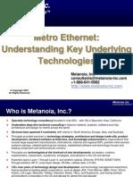 MetroEthernet MetanoiaInc Next Gen Workshop 2007-07-17