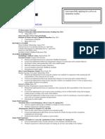 justine resume revised 2013