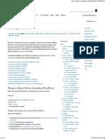 Installing WordPress « WordPress Codex