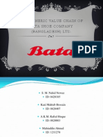 Presentation of The Generic Value Chain of Bata Shoe Company (Bangladesh) Ltd