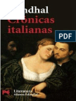Stendhal Cronicas Italianas