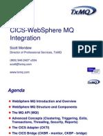 SM MQ CICS Integration
