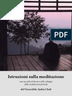 Istruzioni Sulla Meditazione