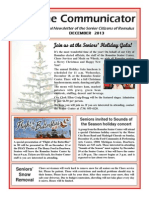 Communicator Senior Newsletter - December 2013