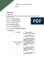 Anatomie Et Fonctionnement Auditif