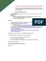Hướng dẫn cài đặt hệ quản trị cơ sở dữ liệu Microsoft SQL Server 2005