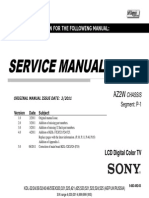 Manual Servico Tv Lcd Sony Kdl 55ex525 Chassis Az2w