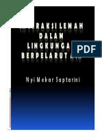 2_Interaksi Lemah Dalam Lingkungan Berpelarut Air_2013