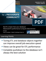 Performance Tuning for Data Services