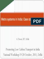 Metro Systems in India_Case Study DMRC_Tiwari