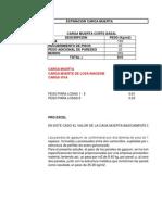 Cargas y Corte Basal m2 22-11-2013