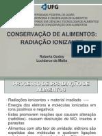 Irradiação-Conservação de Alimentos