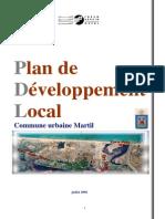 Plan de développement Urabin -Commune Martil