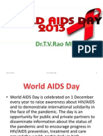 WORLD AIDS DAY 2013