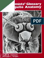 Taxonomists 039 Glossary of Mosquito Anatomy