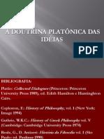 PLATÃO DOUTRINA DAS IDÉIAS