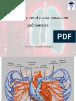 Presiones y Resistencias Vasculares Pulmonares