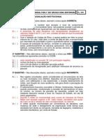 Prova e Gabarito Acd 1sgt