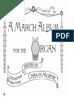 organ music a march album
