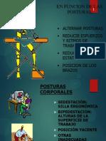 ergonomia POSTURAS CORPORALES