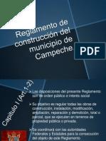 Reglamento de construcción del municipio de Campeche (1)