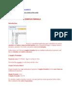Excel Tutorial