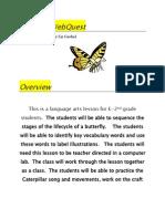 butterfly webquest