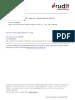 Remapping Translation Studies