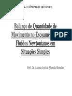 TA534-Balanco de Quantidade de Movimento Situacoes Simples (2)
