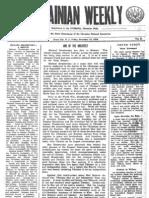 The Ukrainian Weekly 1934-50