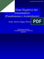 Bacilos Gram Negativos não fermentadores